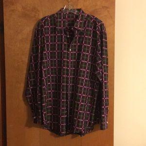 Men's XL Robert Graham  button down shirt
